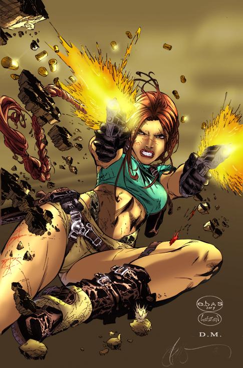 Lara Croft by Ebas