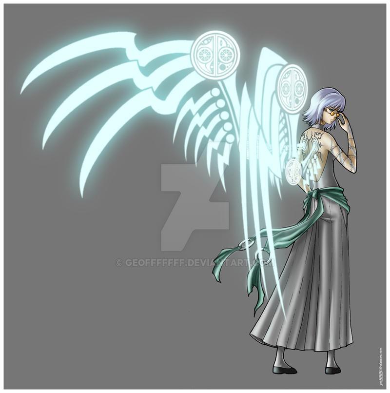 Bleach Oc Hakugin Jin By Sarzill On Deviantart: Sacred Aurora By Geofffffff On DeviantArt