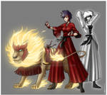 Commission - Tatsuki Red Flame