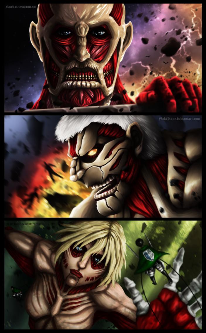 Three Titans by NoktBane