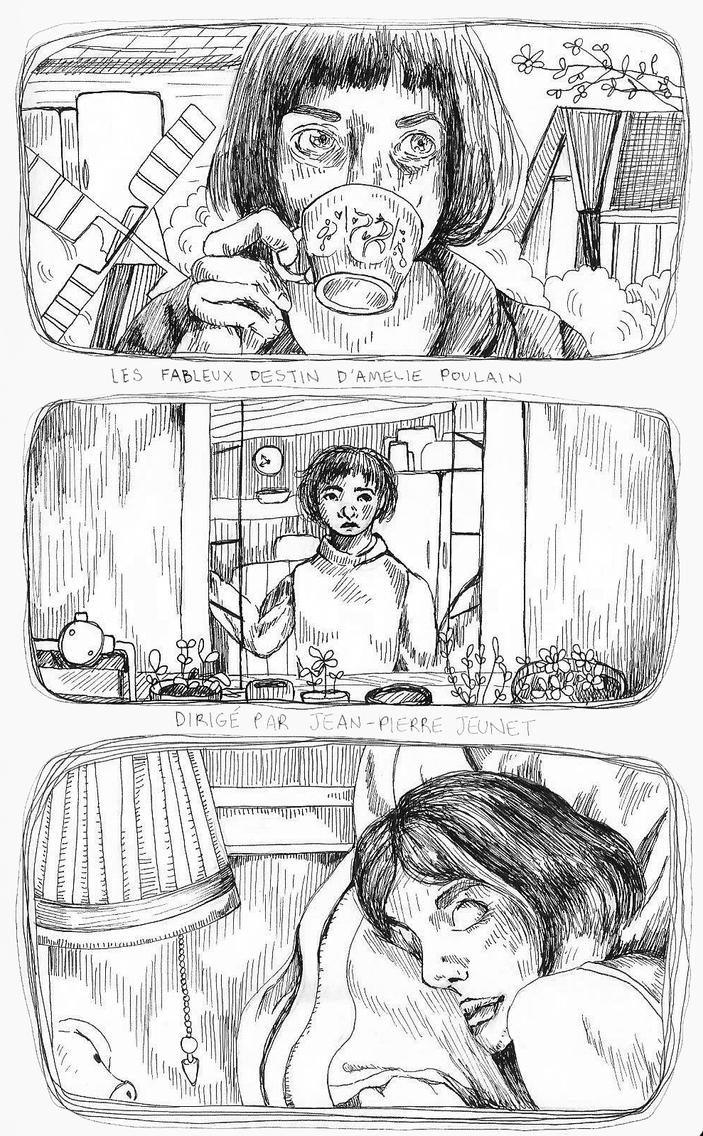 Amelie Movie Study by emmettpellerin
