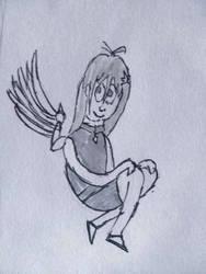 Gift for SailorEnergy: Cartoony Energeia by BjartskularBrisingr1