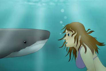 Shark Girl by Clairey-kun