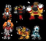 Robot Master Knights