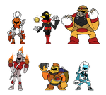 Robot Master Knights by that-one-guy-again