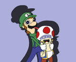 Luigi! (and Toad)