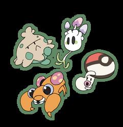 Mushroom Pokemon by that-one-guy-again