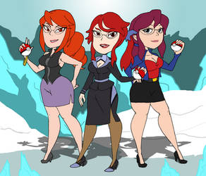 Ice-Tough Redheads by that-one-guy-again