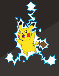 Pikachu used Thunder ! by that-one-guy-again