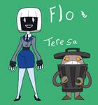 Flo and Teresa, Helper Robots
