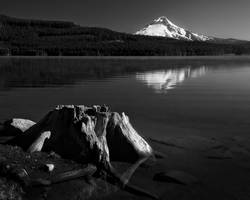 Timothy Lake BW by CezarMart