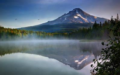 Trillium Lake by CezarMart