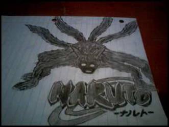 Naruto - Naruto 4tails by N1cknameS