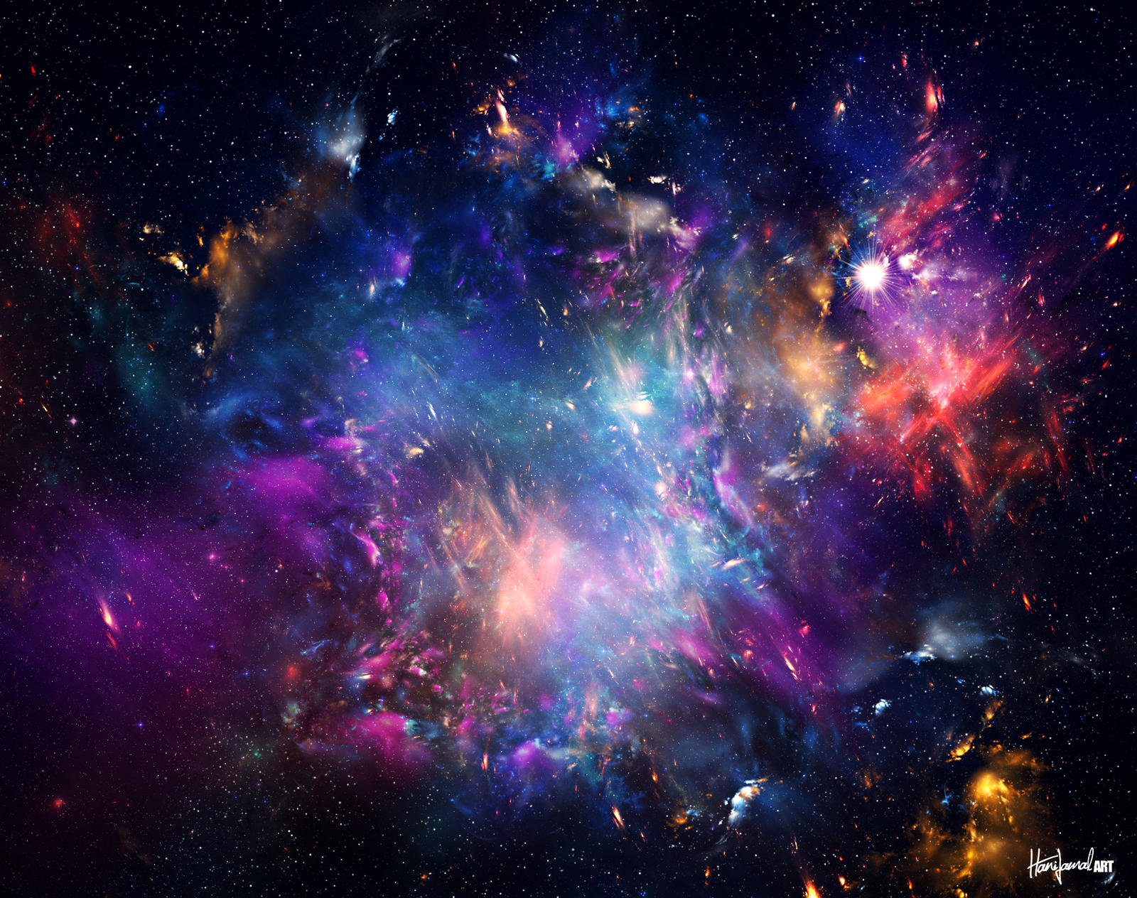 Hipster Space Backgrounds