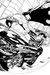 Batman vs Joker by PeubloShatner