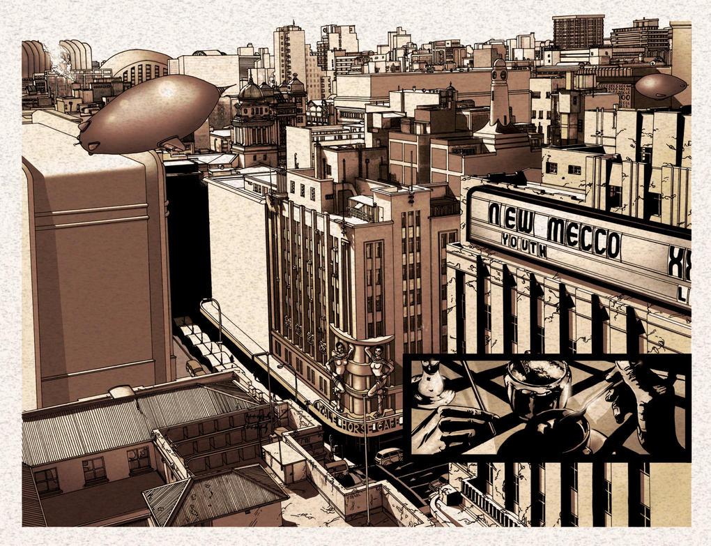 cityscape by PeubloShatner