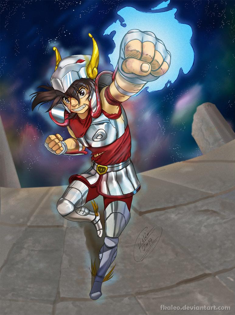 Pegasus Seiya by fkaleo
