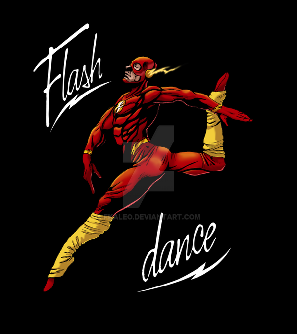 Flash Dance Comission by fkaleo