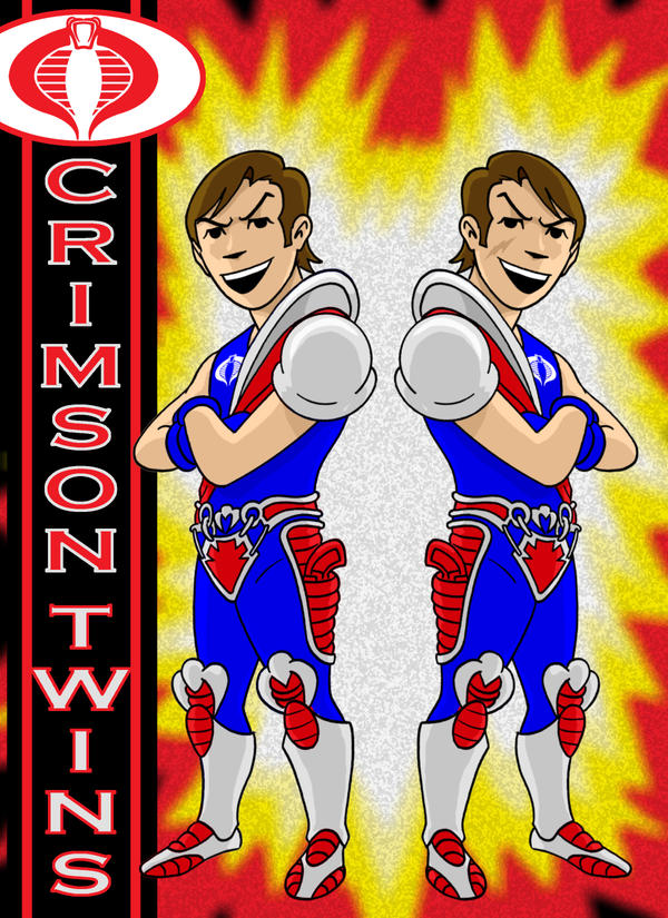 Crimson Twins Herotoons by AlanSchell