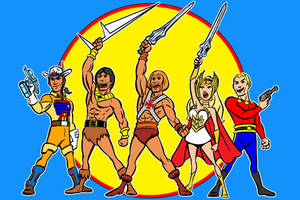 filmation heroes commission by AlanSchell