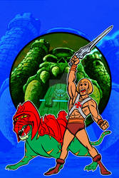 by the power of grayskull by AlanSchell