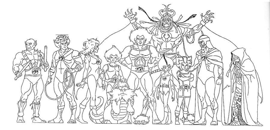 thundercats_1_by_aschelljpg 900435 coloring pages pinterest thundercats - Thundercats Coloring Pages To Print
