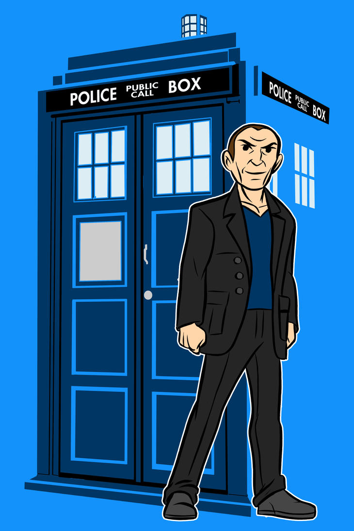 the ninth Doctor by AlanSchell