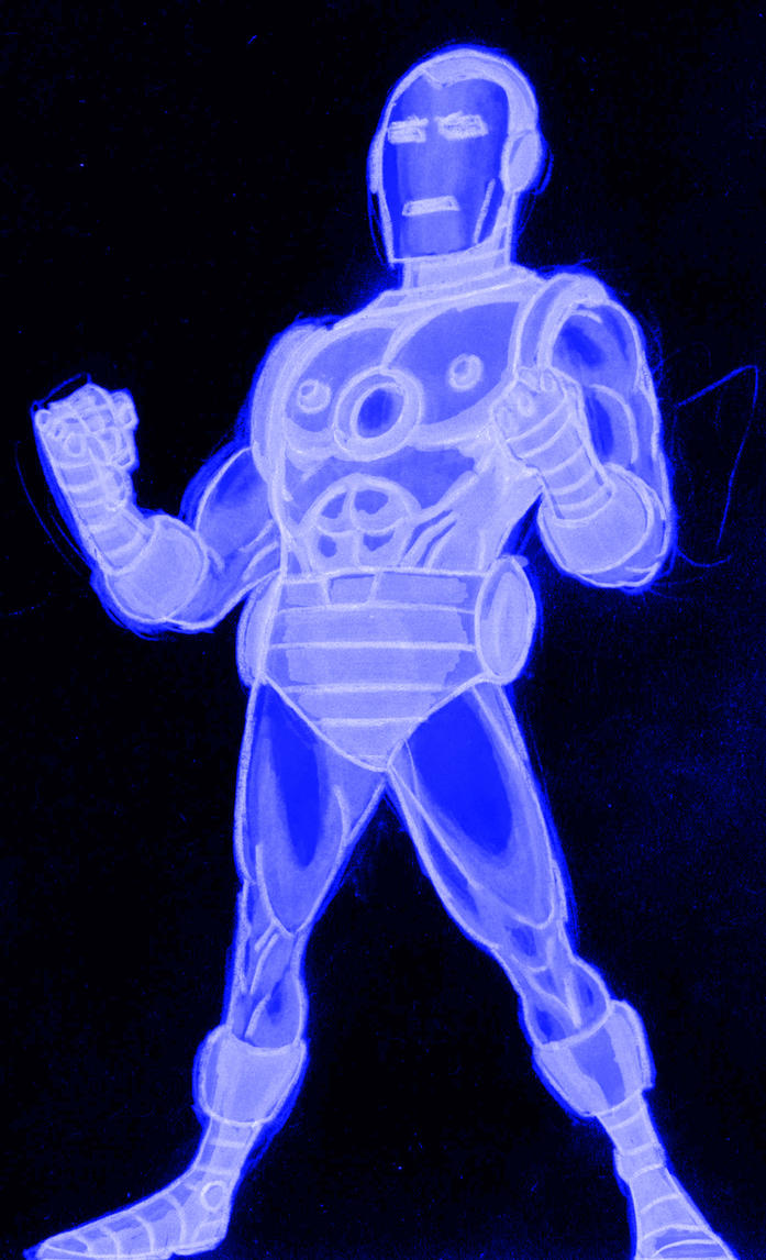 tron iron man by AlanSchell