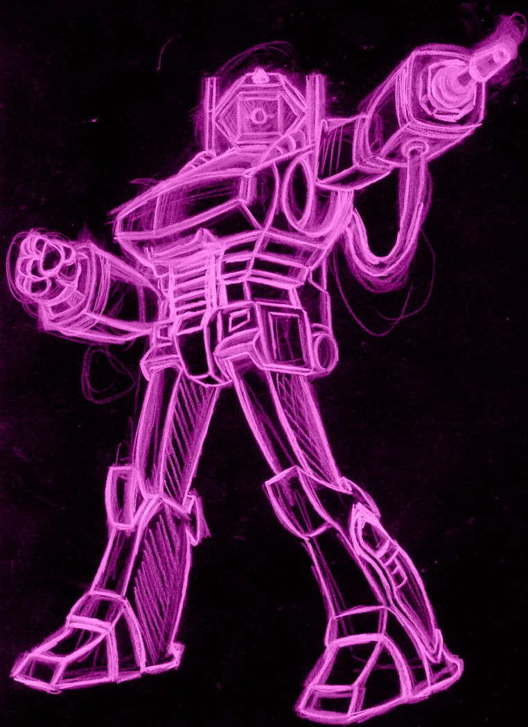 shockwave neon by AlanSchell