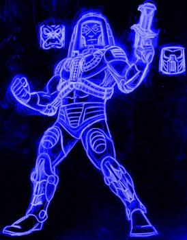 man-e-faces neon