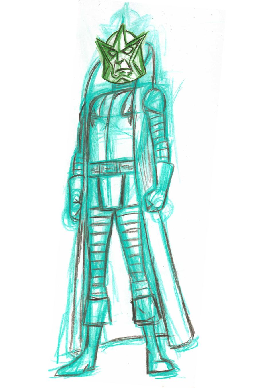 mastar sketch by AlanSchell