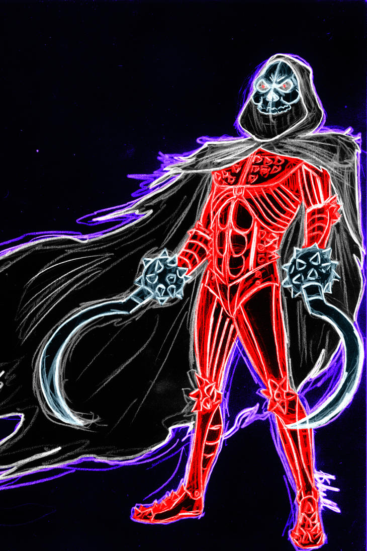 Reaper Neon by AlanSchell