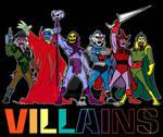 Filmation Villains