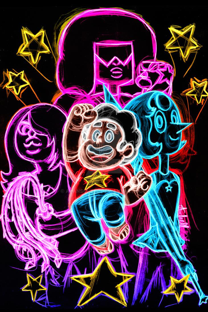 Steven Universe Neon by AlanSchell
