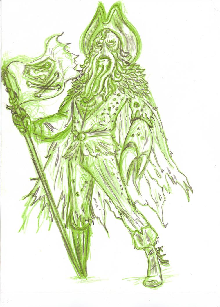 Davy Jones Superman by AlanSchell
