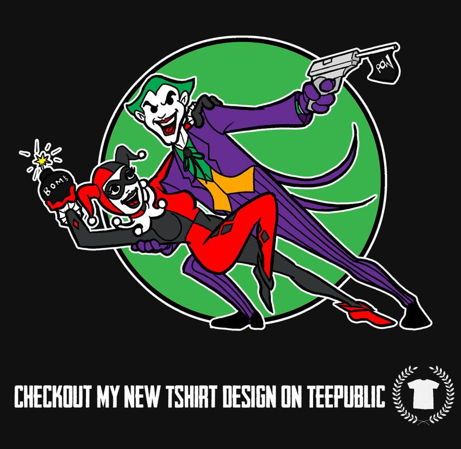 Joker n Harley Dance of Death by AlanSchell