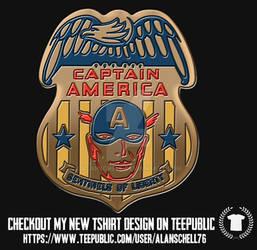 Captain America Badge
