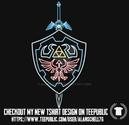Hyrule Sword and shield