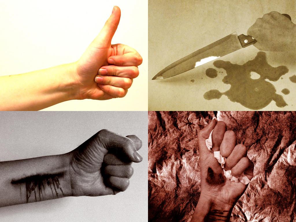 Slit wrist suicide slit wrist theory by