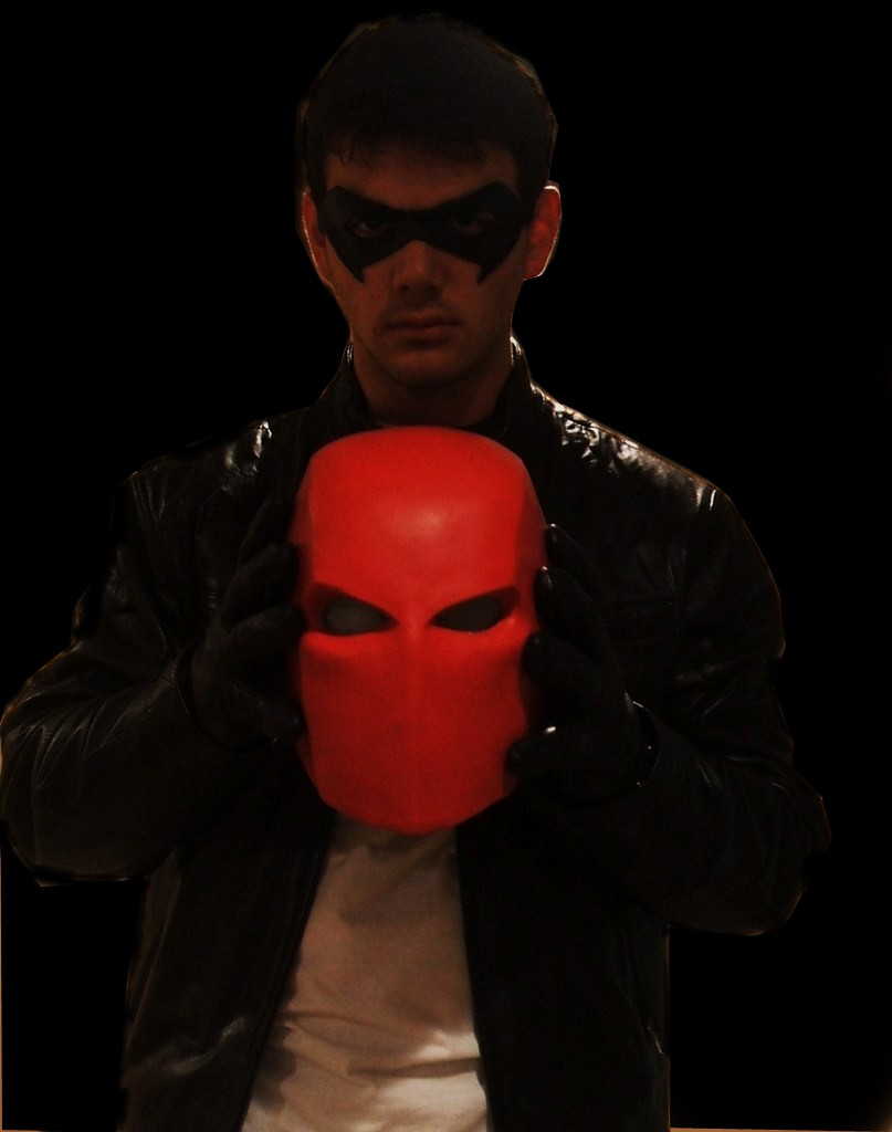 Red Hood Unmasked by JJBAER