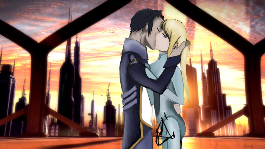 zero suit samus and link kiss - photo #4