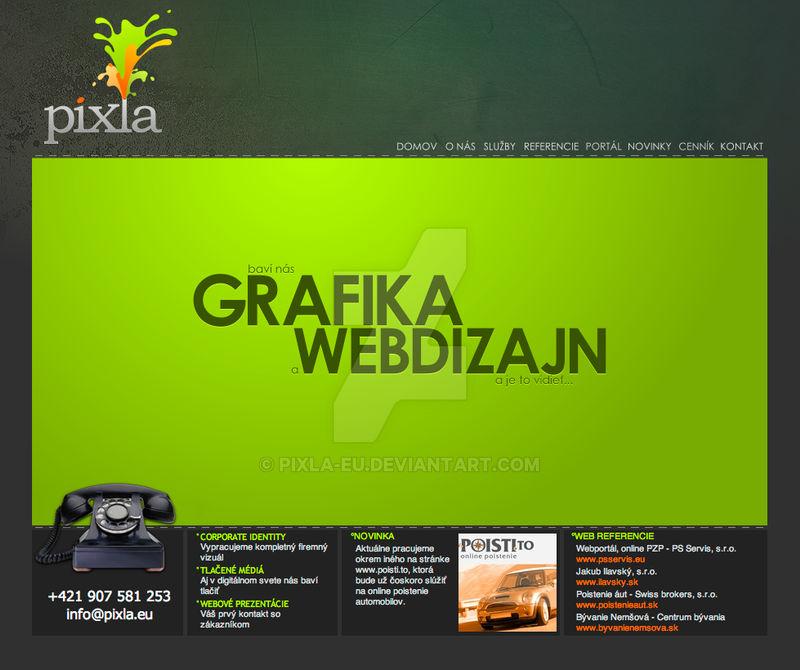 www.pixla.eu main page