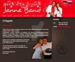Janne Band web page