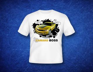 Camaro T-shirt by pixla-eu
