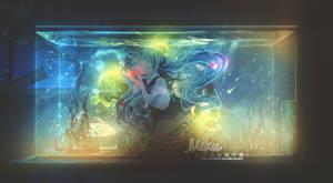 Miku | Waterlife | Collab with my Uke