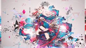 Wild girl   Collab   Wallpaper by oOnadileeOo