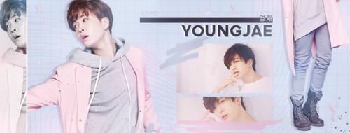 Facebook Banner | Youngjae | Got7 | Pastel by oOnadileeOo