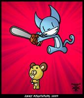 Bear and Looshkin by JimmyMisanthrope
