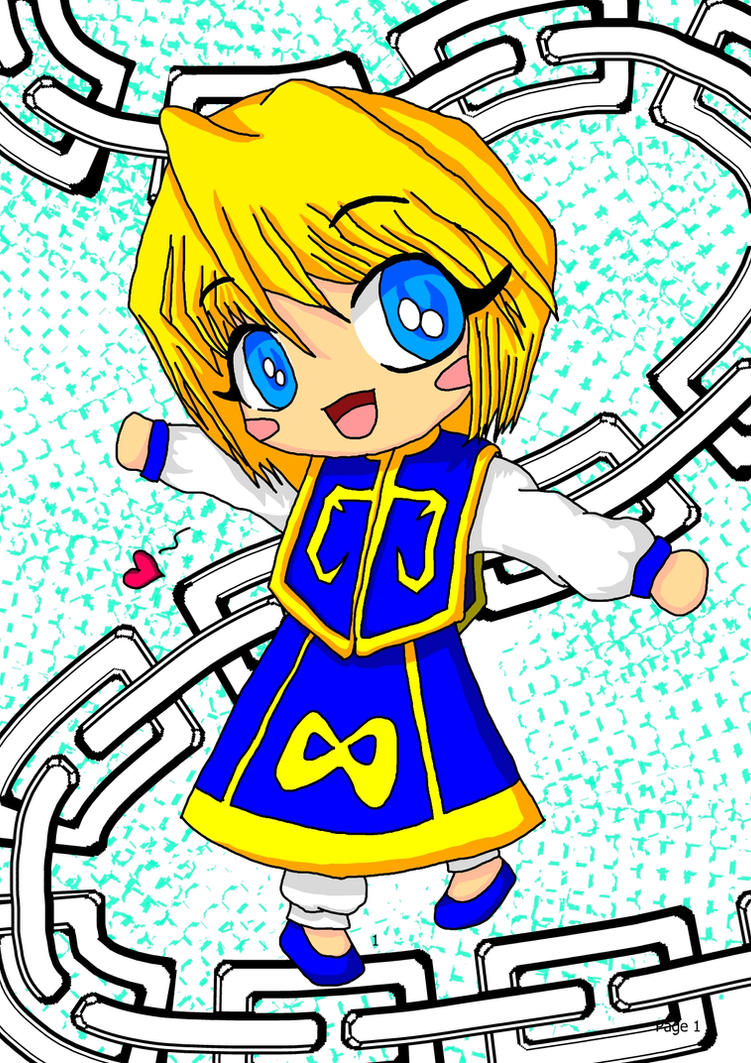 come play with me kurapika chibi colored by bunslake on deviantart