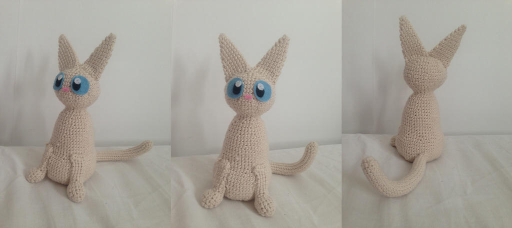 Amigurumi Pattern Free Rabbit : amigurumi cat- Jiji pattern by bunslake on DeviantArt